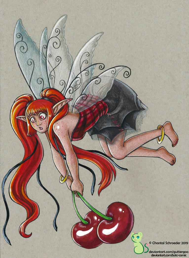 Cerise Marabou the Cherry Fairy