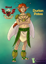 Durian Potoo by BotC-Comic