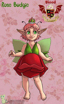 Rose Budgie (Child)