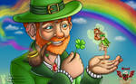 A Clover for a Shamrock - St. Patrick's Day 2020 by BotC-Comic