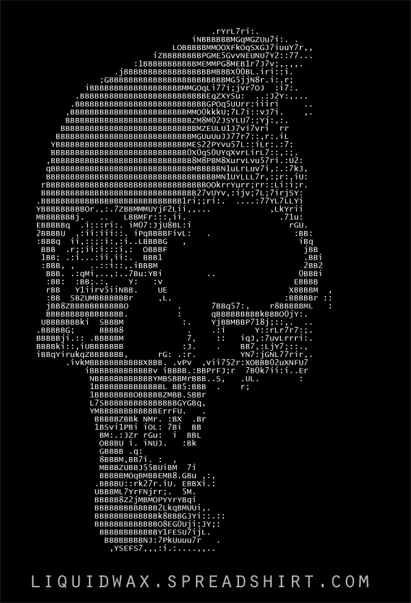 One Line Ascii Art Music : Ascii skull by obijohnkenobi on deviantart