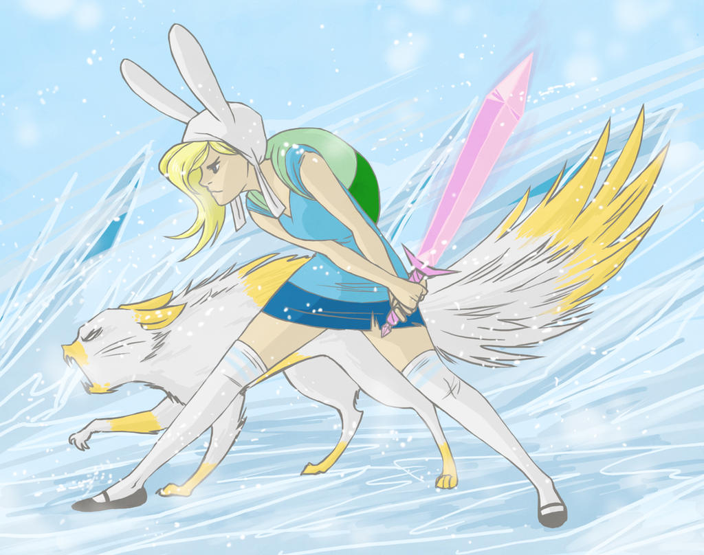 Fionna And Cake By Hootsweets On DeviantArt