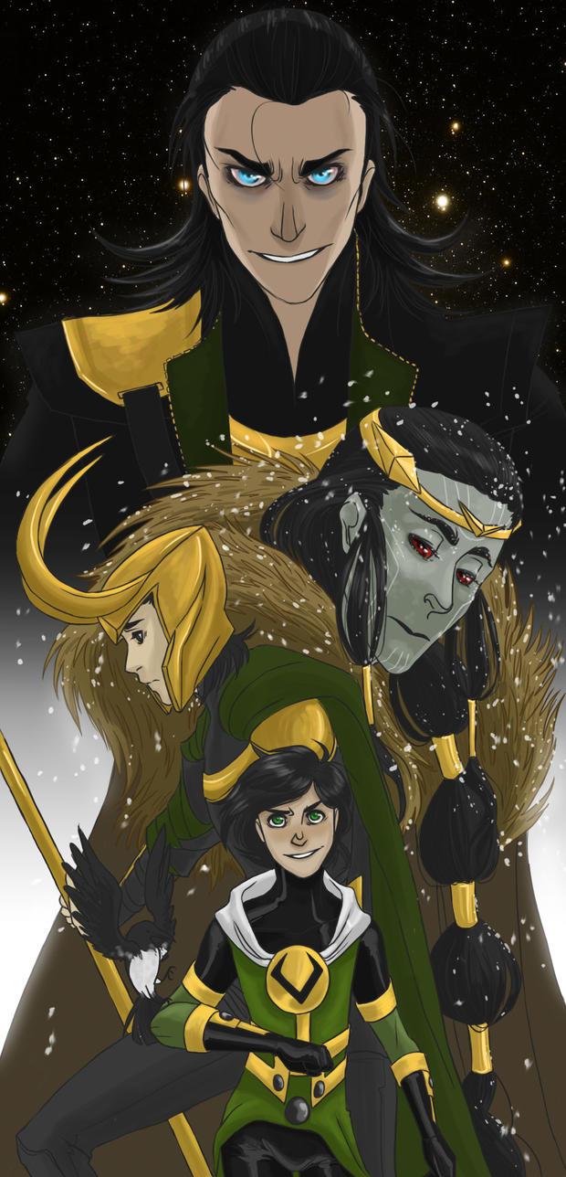 Loki by Hootsweets on DeviantArt