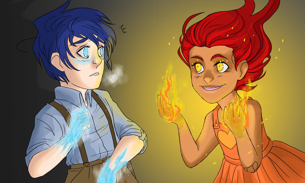 firegirl and waterboy