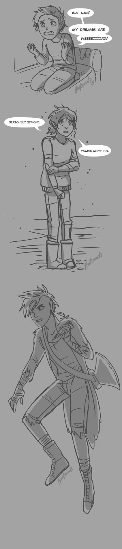 AT Spoilers (kinda) Stakes Sketches by Hootsweets