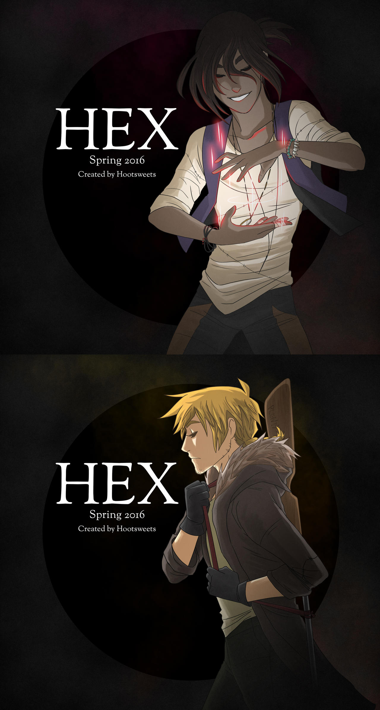 HEX Coming Spring 2016 by Hootsweets