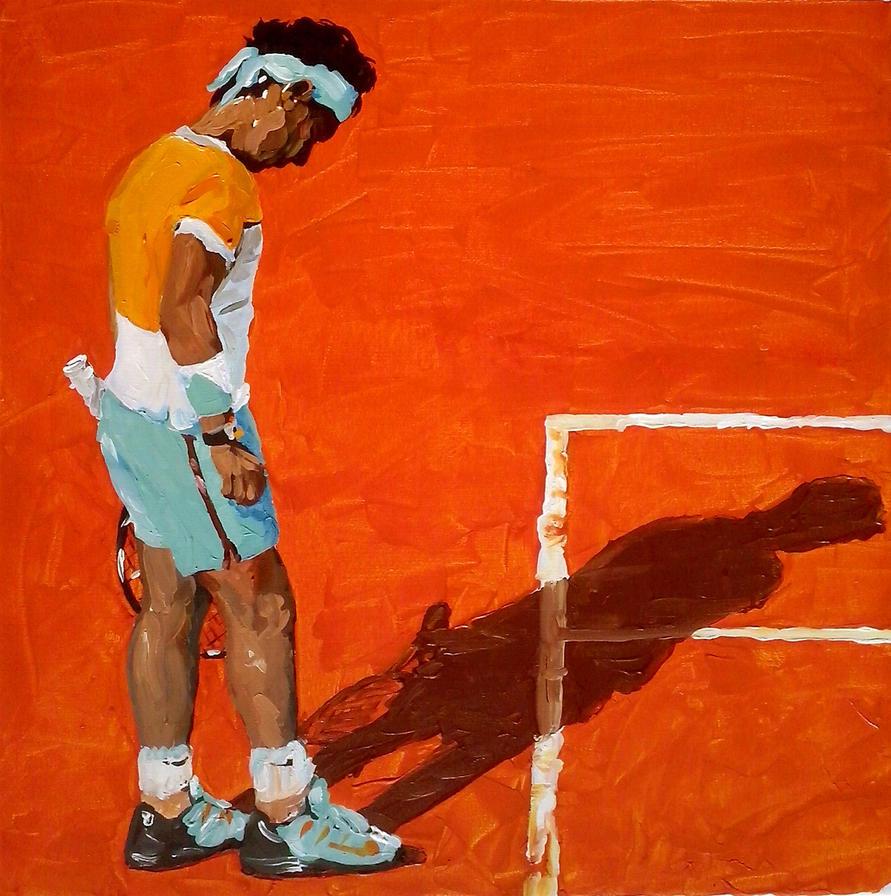 Rafael Nadal by GuillermoMuller