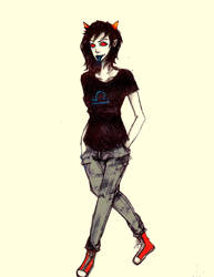 Terezi Pyrope by moonlightSynthesis