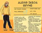 OC: Alexis Bryne (Revamp)