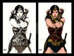 Wonder Woman of Gal Gadot Colored