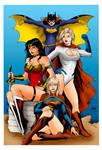 Superheroines of DC Comics