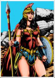 Wonder Woman Colored