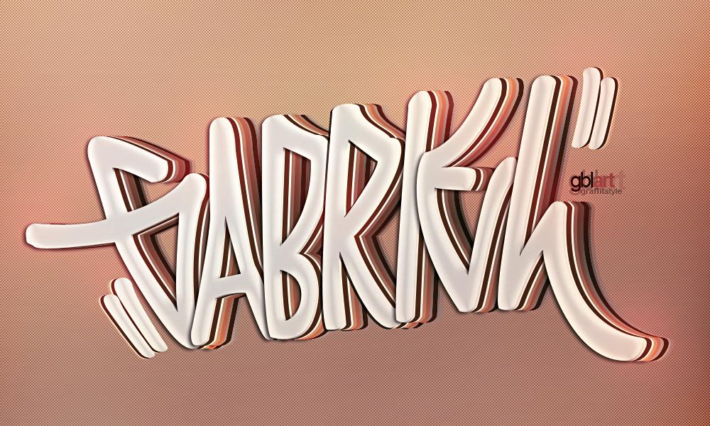 gabriel graffiti by gbas