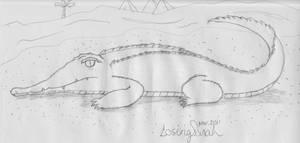 Crocodile by LosingSarah