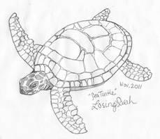 Sea Turtle by LosingSarah