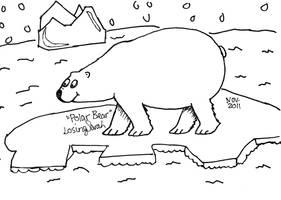 Polar Bear by LosingSarah
