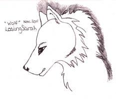 Wolf by LosingSarah