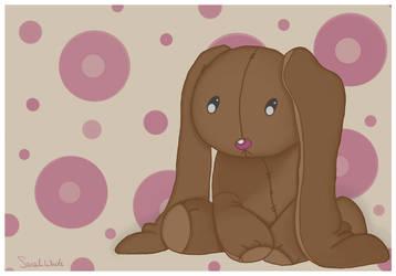 Plush Bunny by LosingSarah
