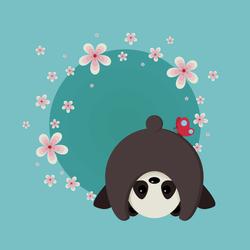 Cute Panda by LosingSarah