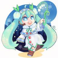 Yuki Miku by AliceVu134