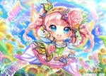 Chibi commission - Farfalla Beryl