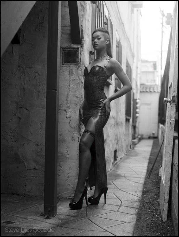 Skin Diamond, Los Angeles 2011 by stevedietgoedde