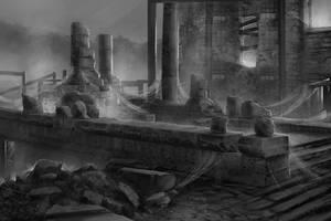 Concept : Web Ruins by Gycinn