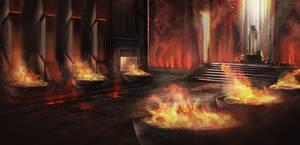 Concept Art : Forge Temple
