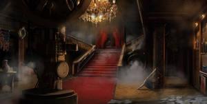 BlackRush interior mansion