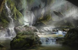 Random Jungle painting by Gycinn