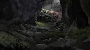Random Cave by Gycinn