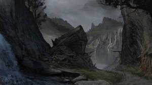 River Hills by Gycinn