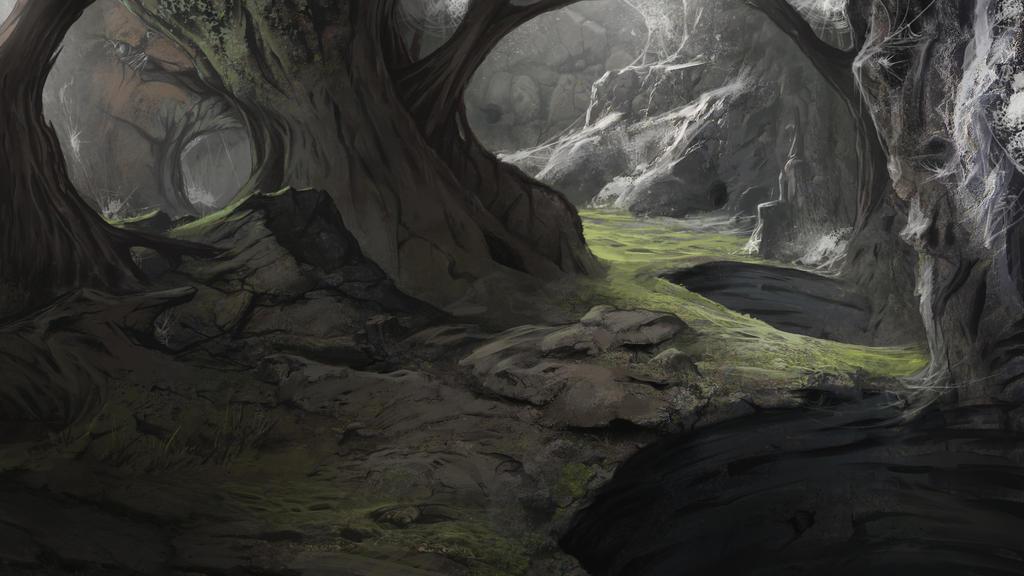 Spider Cave by Gycinn