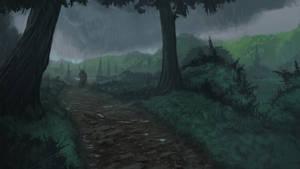 Grassland rain