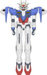GN-0000 00 Gundam by ironscythe