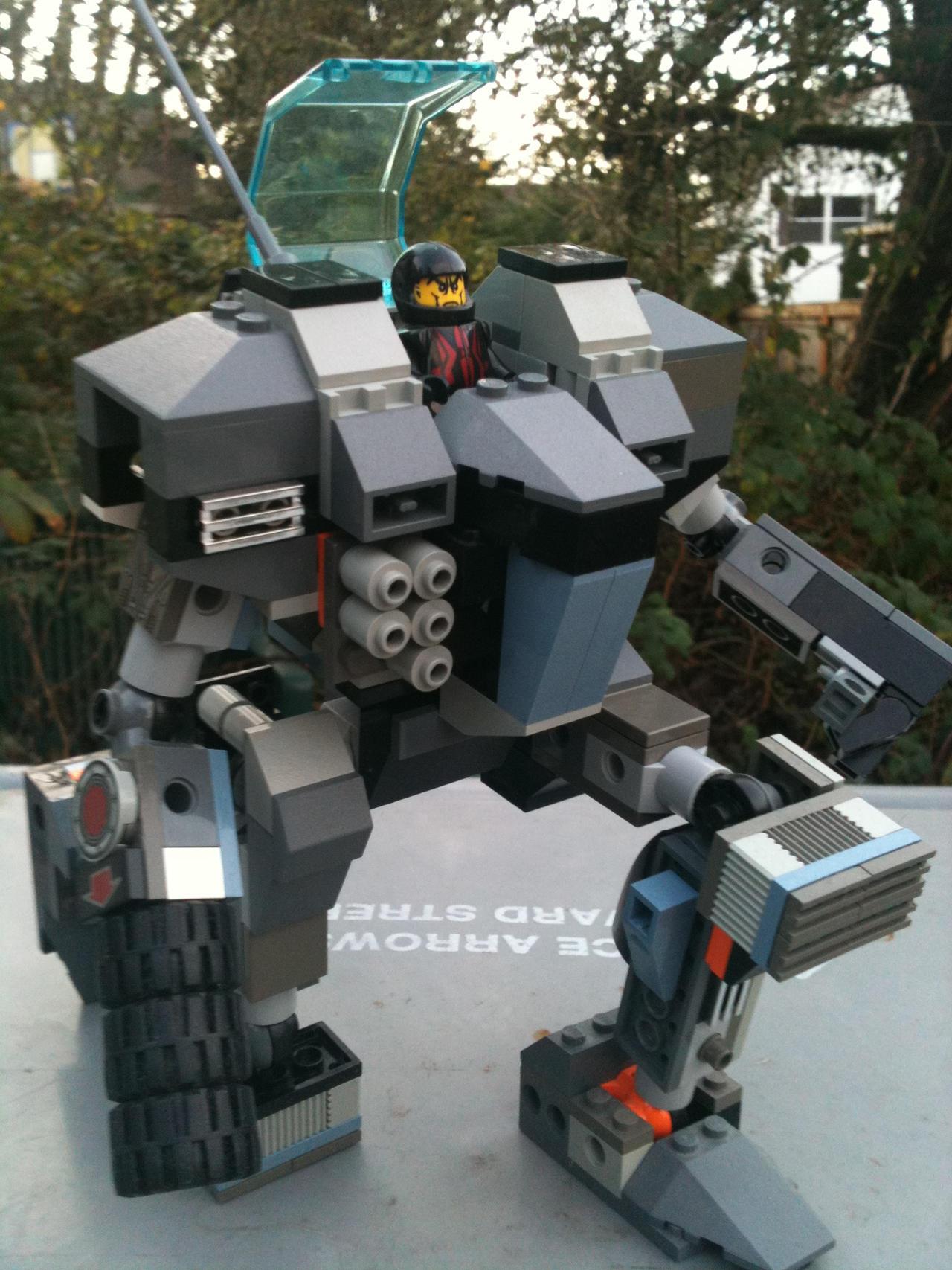 Lego ASN-21 Assassin pt.4 by ironscythe