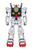RX-178 Gundam Mk. II by ironscythe