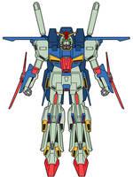 MSZ-010 ZZ Gundam by ironscythe