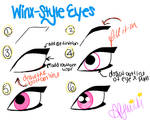 How to Draw Winx-Style Eyes