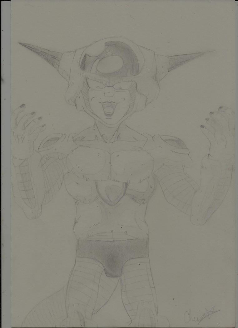 Lord Freiza (Dragon Ball Z) by creepylaughingirl14