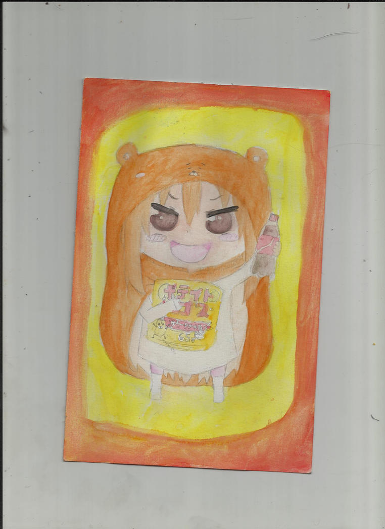 Umaru-Chan (Himouto! Umaru-Chan) by creepylaughingirl14
