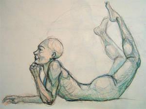 Anatomy sketch no4