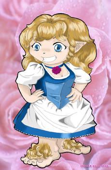 chibi Rose Cotton