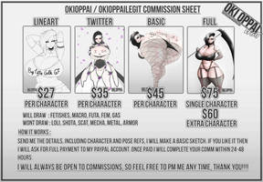 The Commission Sheet - Open