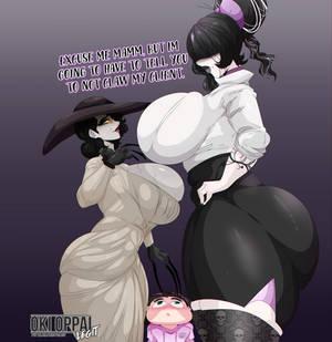 Vampire Lady Vs. Secretary Goth #2