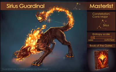 Sirius Guardinal - masterlist