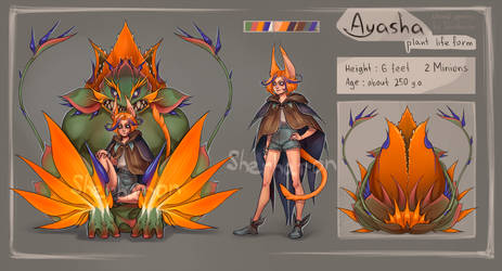 [CLOSED] Strelitzia (Ayasha CS) by Sherharon