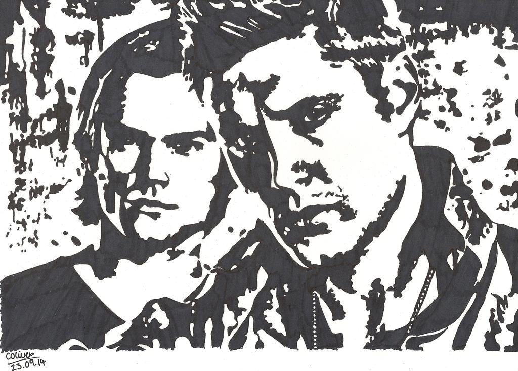 Sam and Dean by TheLilAlien