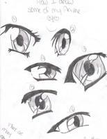 How I draw Anime Eyes by Xxgot-milkxX