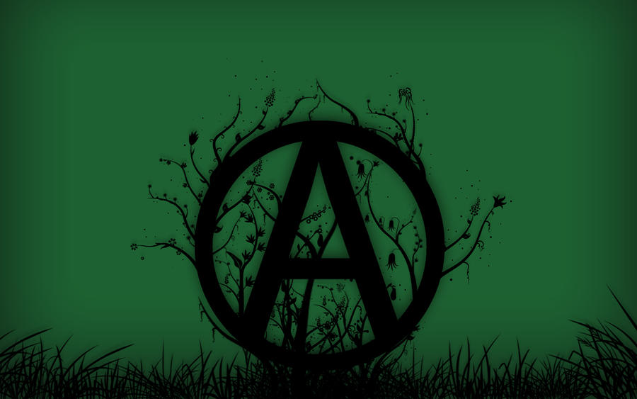 Green Anarchism Wallpaper by anarchoart on DeviantArt